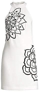 Trina Turk Women's Wanderlust Classic Crepe Embellished Dress