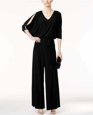 Msk Embellished Cold-Shoulder Jumpsuit $79 thestylecure.com