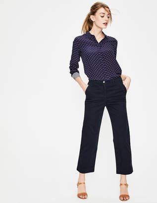 Boden Rachel Wide Crop Chino Pants
