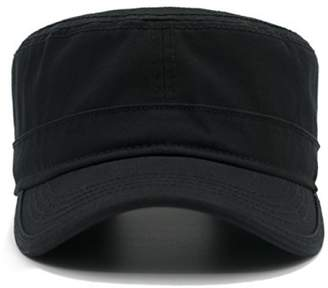 886d2cad Krisphily Washed Cotton Army Cap,Military Hat,Trucker Hat