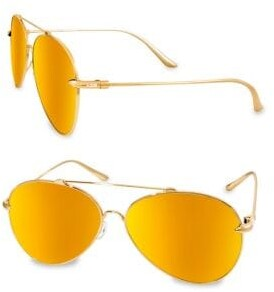TOMMIE 60MM Aviator Sunglasses
