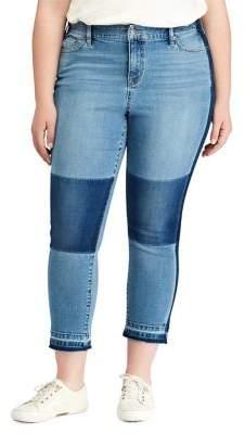 Lauren Ralph Lauren Plus Premier Straight Cropped Jeans