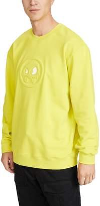 McQ Alexander McQueen Long Sleeve Pullover Logo Crew Neck