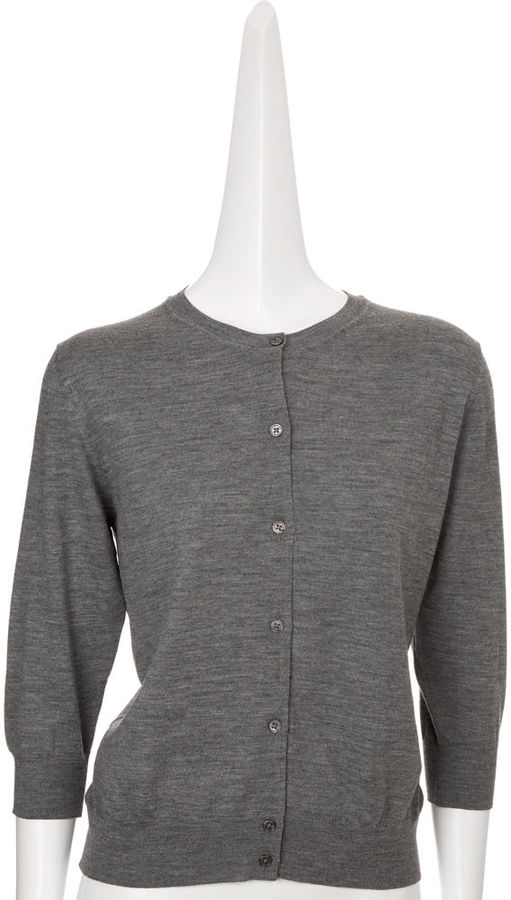 Marc Jacobs Drape Knot Cardigan - Grey