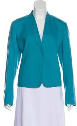 Akris Punto Single-Breasted Button-Up Blazer