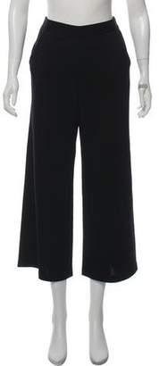 St. John Wool-Blend Knit Culottes w/ Tags