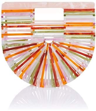Cult Gaia Multicolor Acrylic Ark Bag