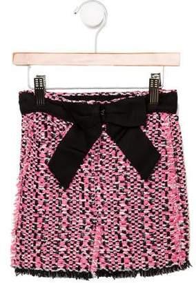 Lanvin Petite Girls' Bouclé Skirt w/ Tags