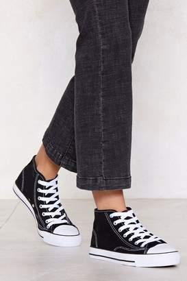 Nasty Gal Kick It Up a Notch High-Top Sneaker