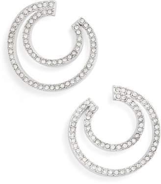 Vince Camuto Curved Hoop Earrings