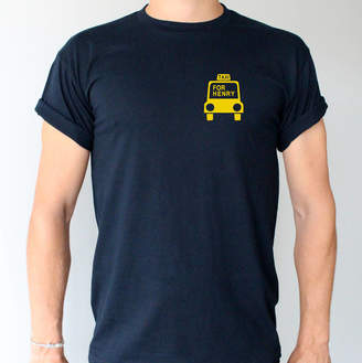 Precious Little Plum 'Taxi For ...' Dad's Cabs T Shirt