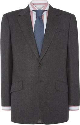 Men's Chester Barrie Burlington Lux Flannel Suit