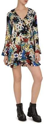The Kooples Honolulu Ruffle Dress