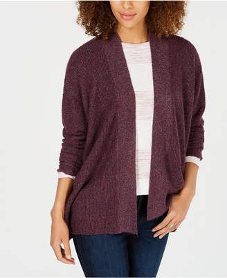 Style&Co. Style & Co Petite Ribbed Cardigan, Created for Macy's