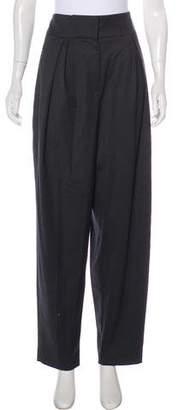 Donna Karan Wool High-Rise Pants