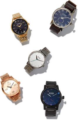 Nixon 36mm G.I. Bracelet Watch, Rose Golden