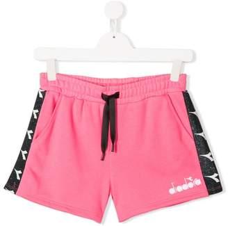 Diadora Junior TEEN side stripe track shorts