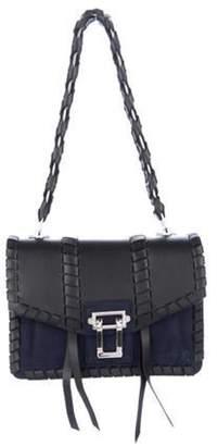 Proenza Schouler Whipstitch Hava Shoulder Bag Black Whipstitch Hava Shoulder Bag
