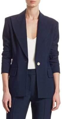 Khaite Sofia Button-Front Blazer