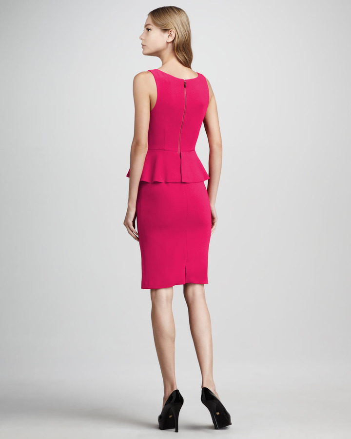 Alice + Olivia Tracey Peplum Dress