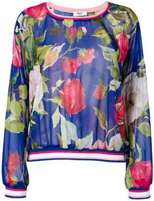 Blugirl floral print sweatshirt