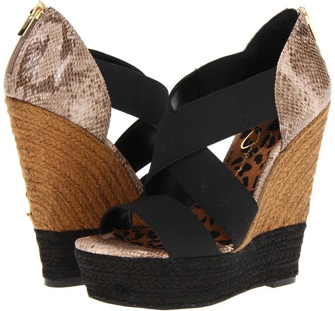 Jessica Simpson Tamica (Black Havanna) - Footwear