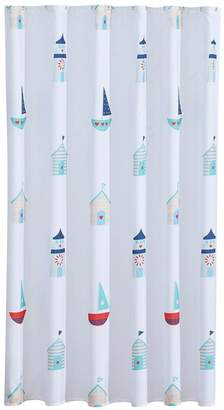 Aqualona Beach Hut Shower Curtain