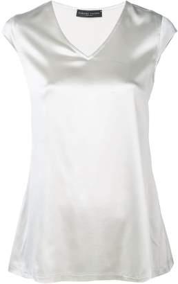 da82def1c4c8b3 Fabiana Filippi v-neck sleeveless blouse