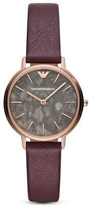 Emporio Armani Kappa Three-Hand Watch, 32mm