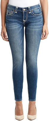 True Religion WOMENS MULTI SUPER T HALLE SUPER SKINNY JEAN