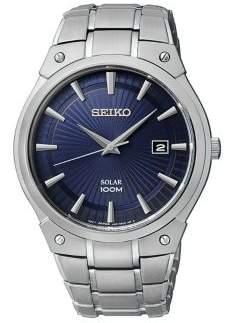 Seiko Analog Stainless Steel Bracelet Watch