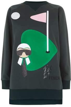 Fendi Karlito Golf Sweatshirt