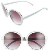 BP 55mm Oversize Round Sunglasses