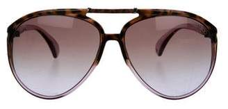 Jimmy Choo Gradient Oversize Sunglasses