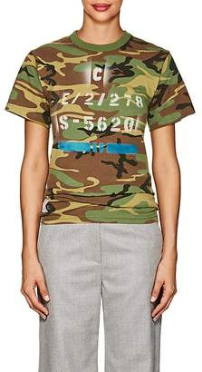 Icons Women's Camouflage Cotton-Blend Jersey T-Shirt