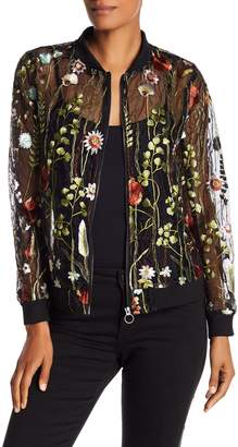 Dolce Cabo Embroidered Bomber Jacket