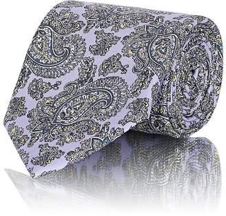 Brioni Men's Paisley Silk Twill Necktie