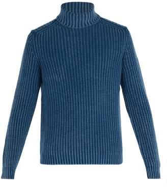 Iris von Arnim Newton cashmere roll-neck sweater
