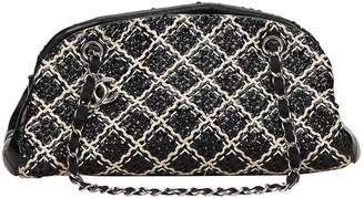 Chanel Mademoiselle tweed handbag
