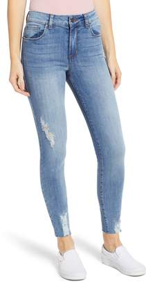 BP Distressed High Waist Skinny Jeans