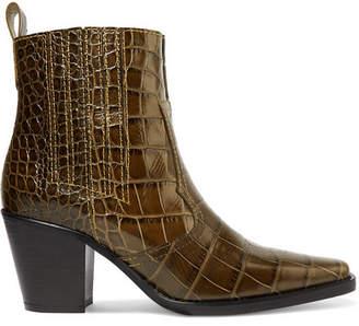 c8f21c046144 Ganni Green Shoes For Women - ShopStyle Australia