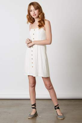 Bio Linen Button Dress
