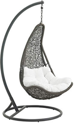 Modway Abate Outdoor Patio Swing Chair With Stand