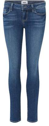 Paige Skyline Skinny Ankle Jean in Lane
