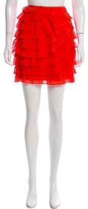Jason Wu Pleated Mini Skirt