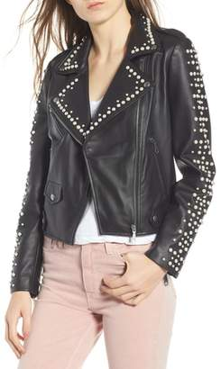 Rebecca Minkoff Wes Embellished Moto Jacket