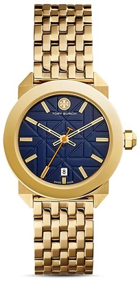 Tory Burch The Whitney Watch, 35mm $595 thestylecure.com