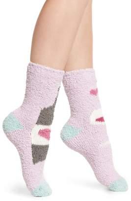 PJ Salvage Pattern Butter Crew Socks