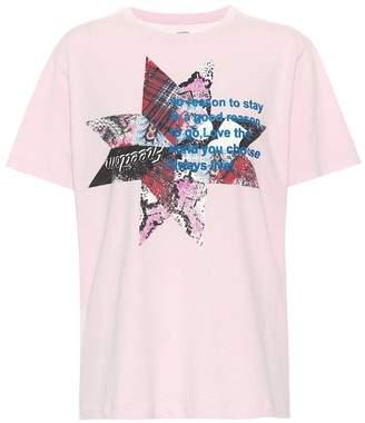 Etoile Isabel Marant Isabel Marant, étoile Printed cotton T-shirt