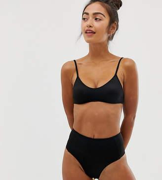 b6dd422a86e64 Monki high waisted mix & match bikini brief in black